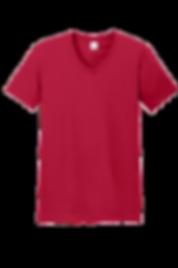 全棉V領T-Shirt