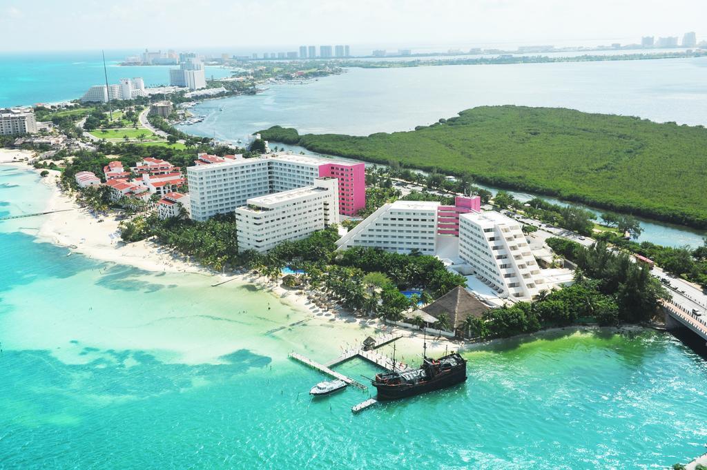 Mexico Palace Cancun Riviera Maya - Dron