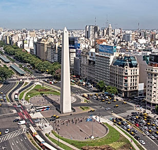 Buenos Aires -AR- Downtown - Monument 70