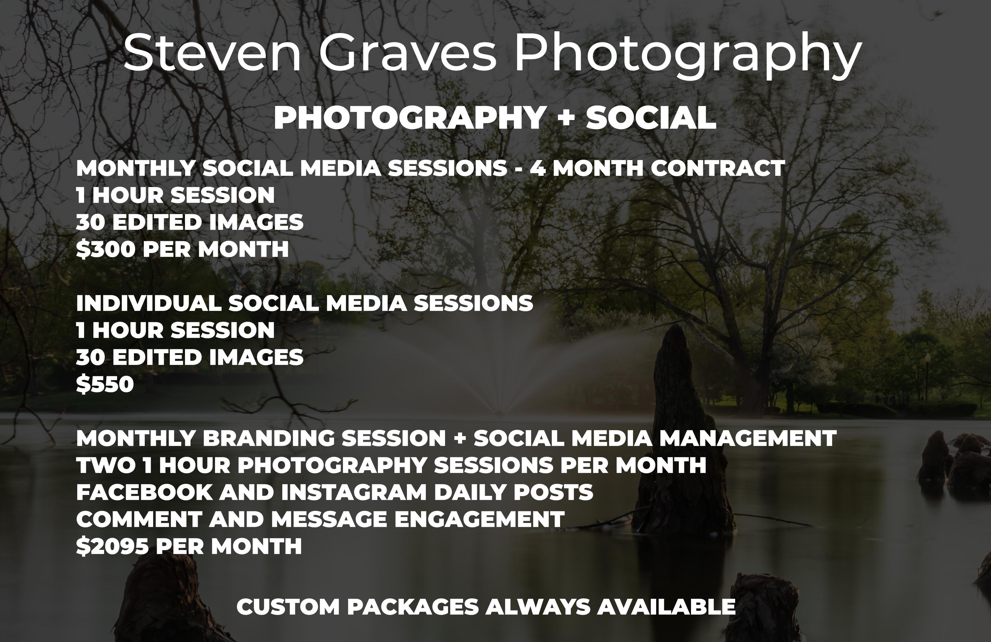 Photography + Social