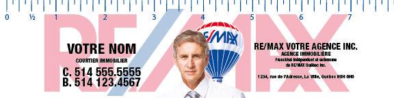 règles signets remax re/max publicité remax notepads