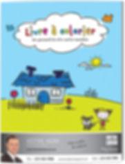 livre à colorier re/max publicité remax