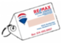 remax re/max porte-clé porte-clef