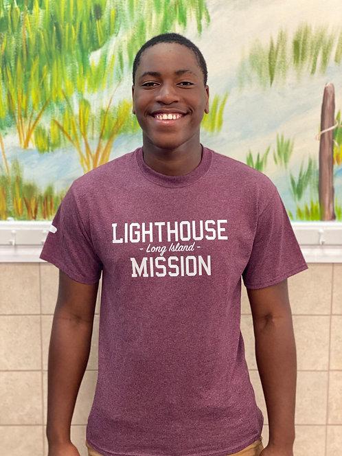 Mission T-Shirt (Maroon)