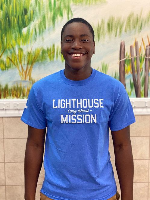 Mission T-Shirt (Light Blue)
