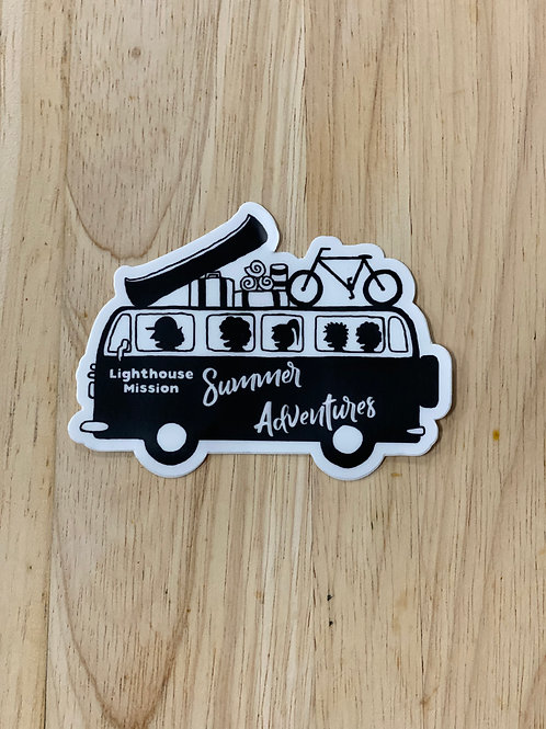 Lighthouse Mission Bus Decal