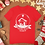 Thumbnail: Lighthouse Mission Christmas T-Shirt (Red)