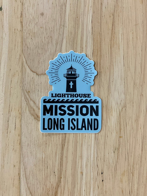 Lighthouse Mission Beacon Decal