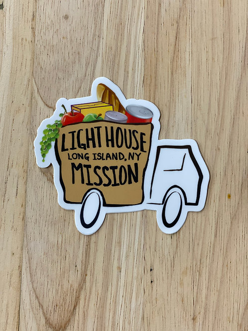 Lighthouse Mission Truck Decal - Alternate Design