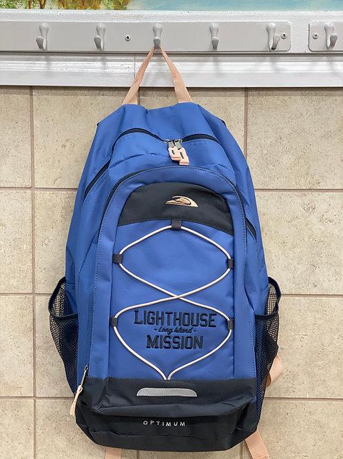 Lighthouse Mission Blue Backpack