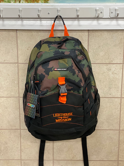 Lighthouse Mission Camo Backpack