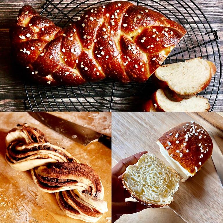 Atelier Brioches et autres pâtes enrichies