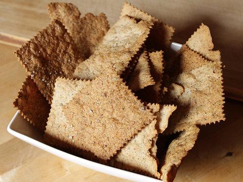 YOB sourdough aperitif crackers