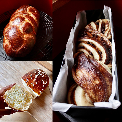 Natural Sourdough Bread Workshop...sipping a glass of wine - October 11, 2020