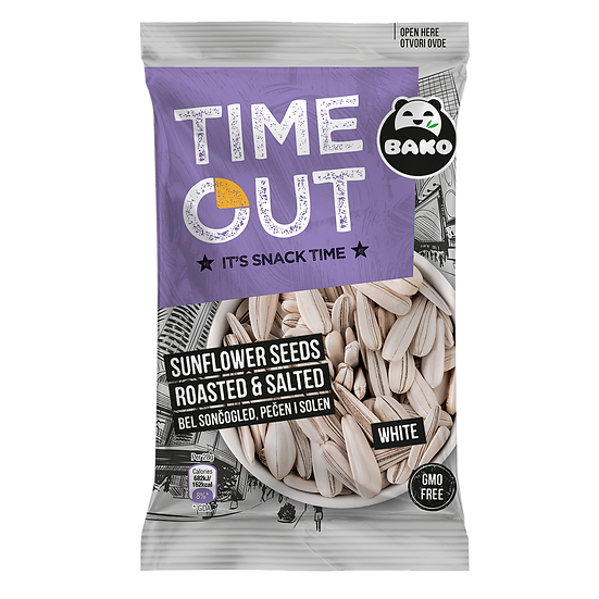 Time Out Sunflower Seeds White