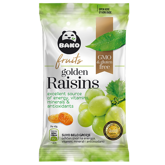 BAKO Natural Golden Raisins