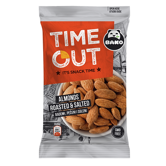Time Out Almonds