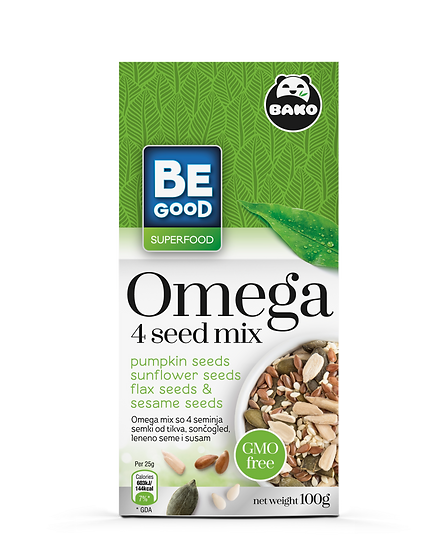 Be Good Superfood Omega 4 seed mix