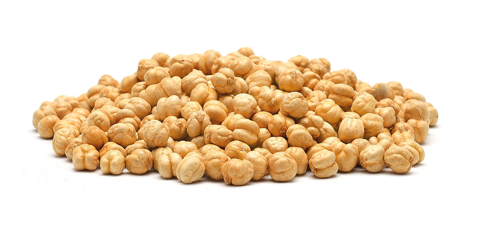Roasted salted yellow chickpeas