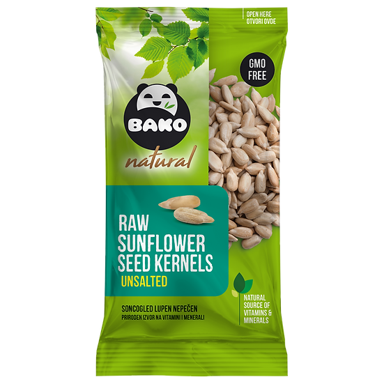 BAKO Natural Raw Sunflower Seed Kernels Unsalted
