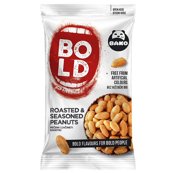 BOLD Roasted & Seasoned Peanuts