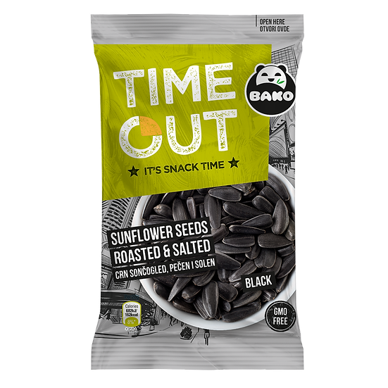 Time Out Sunflower Seeds Black