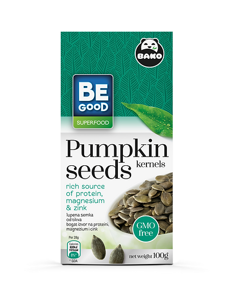 Be Good Superfood Pumpkin Seeds Kernels