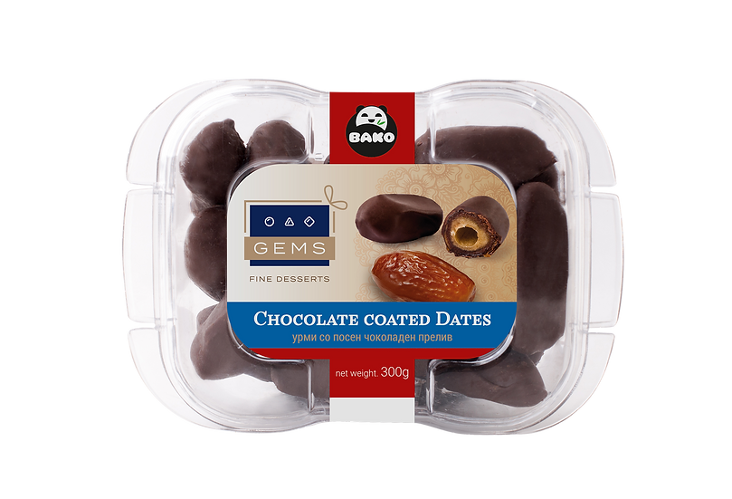 GEMS Chocolate Coated Dates