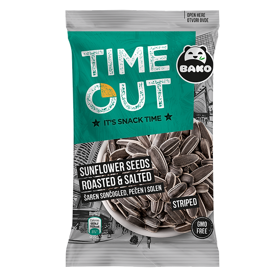 Time Out Sunflower Seeds Striped