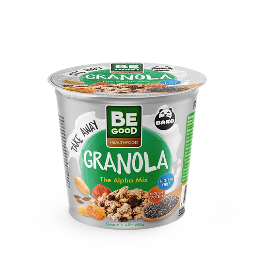 Be Good Healthfood Granola The Alpha Mix