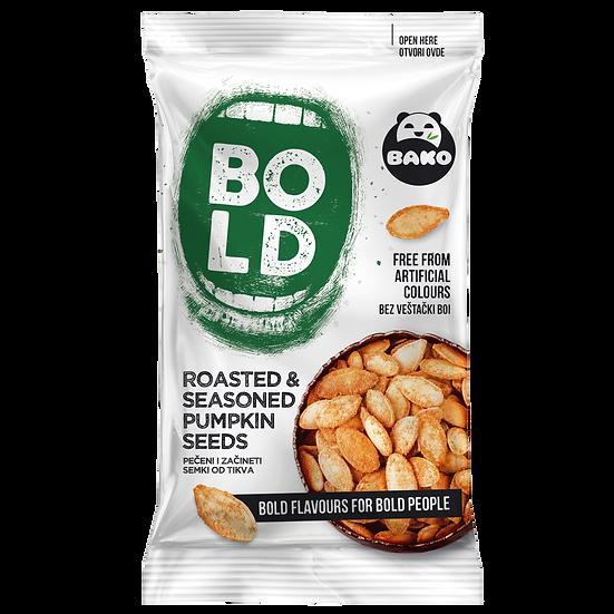 BOLD Roasted & Seasoned Pumpkin Seeds