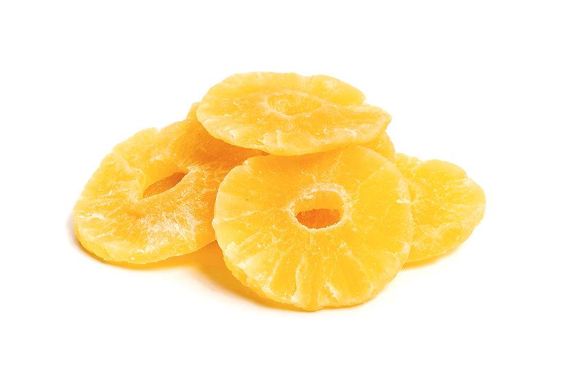 Pineapple rings dried no sugar added