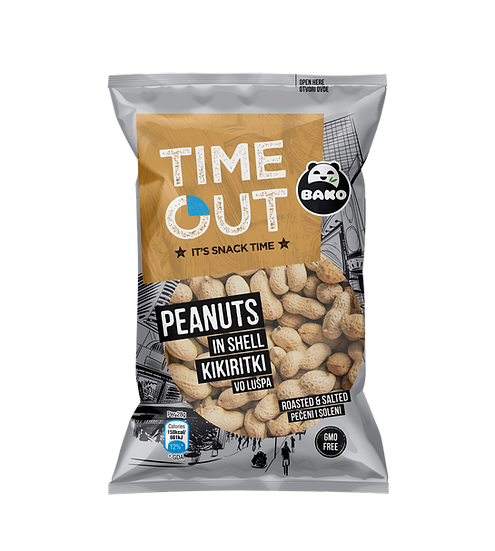 Time Out Peanuts in Shell