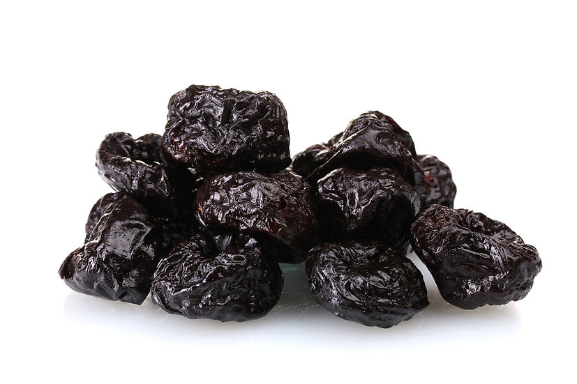 Prunes dried pitted