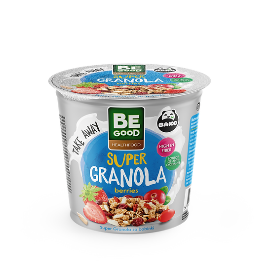 Be Good Healthfood Super Granola Berries