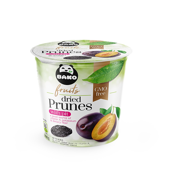 BAKO Fruits Dried Prunes with pit