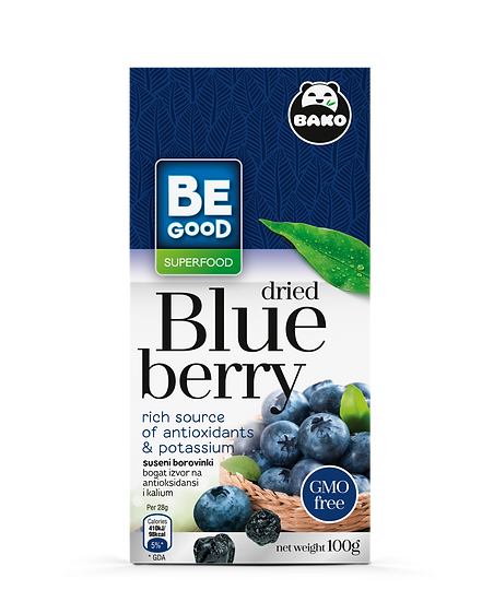 Be Good Superfood Blueberry dried
