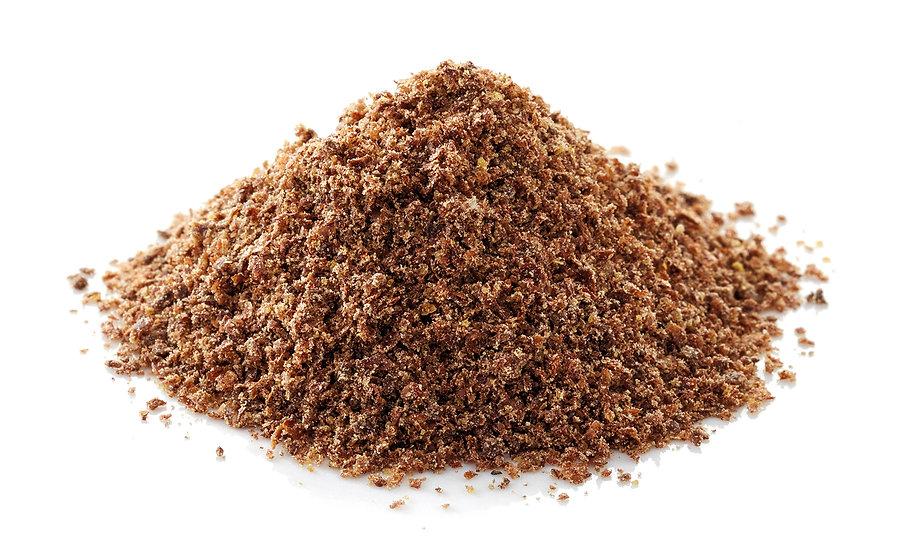 Flax seed brown grind