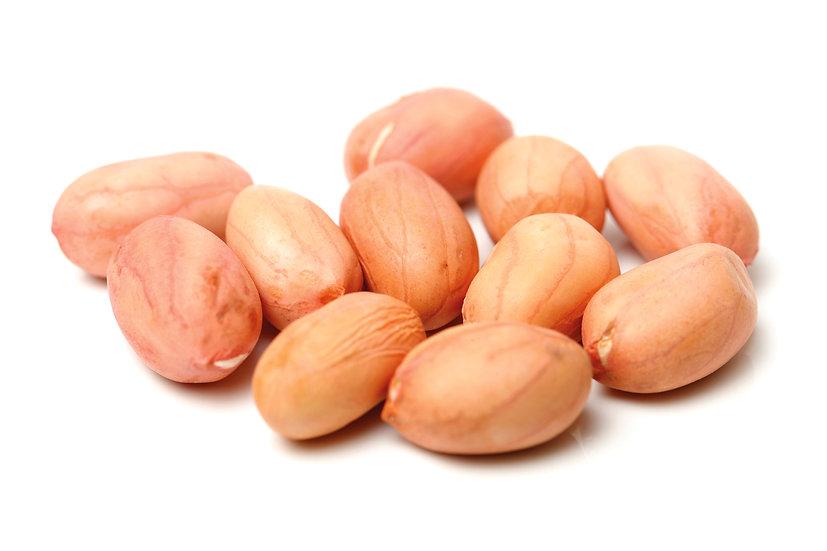 Raw peanuts large