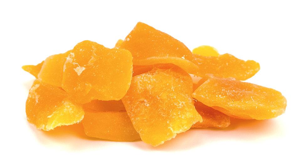 Mango dried no sugar added