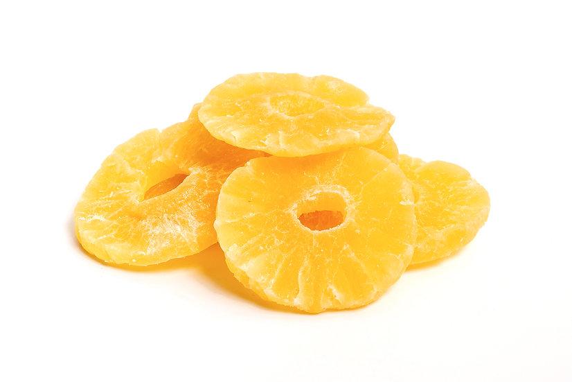 Pineapple rings dried