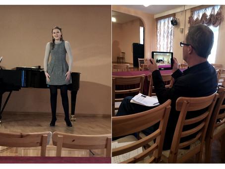 Состоялось прослушивание наших конкурсантов у интенданта Кристофа Майера для Оперного театра Дюссель