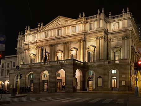 Прослушивание в театре Ла Скала, Милан до 31 августа