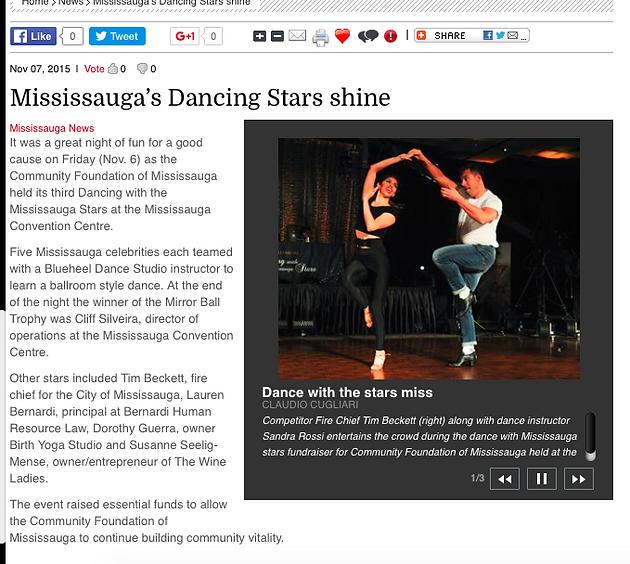 FLASHBACK DANCING WITH FIRECHIEF TIM | Blueheel Dance Studio | Latin