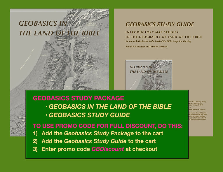 Geobasics Study Package: Save $6 off the cost of the individual items.