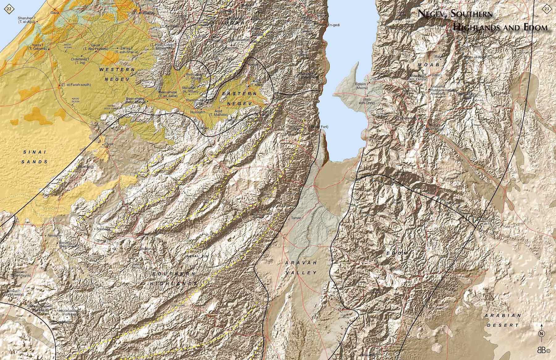 22-23 Negev,SouthernHighlands,Edom