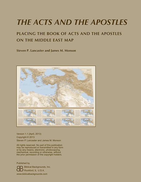 The Acts and Apostles Study Guide