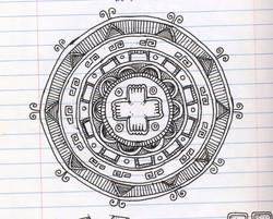 Cross Mandala