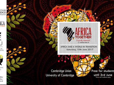 The African Society of Cambridge University announces its fourth annual 'Africa Together' conference