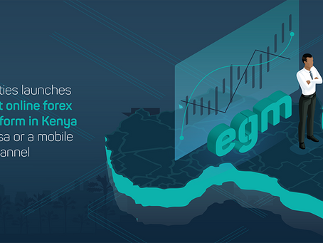 EGM Securities launches Africa's first online forex trading platform